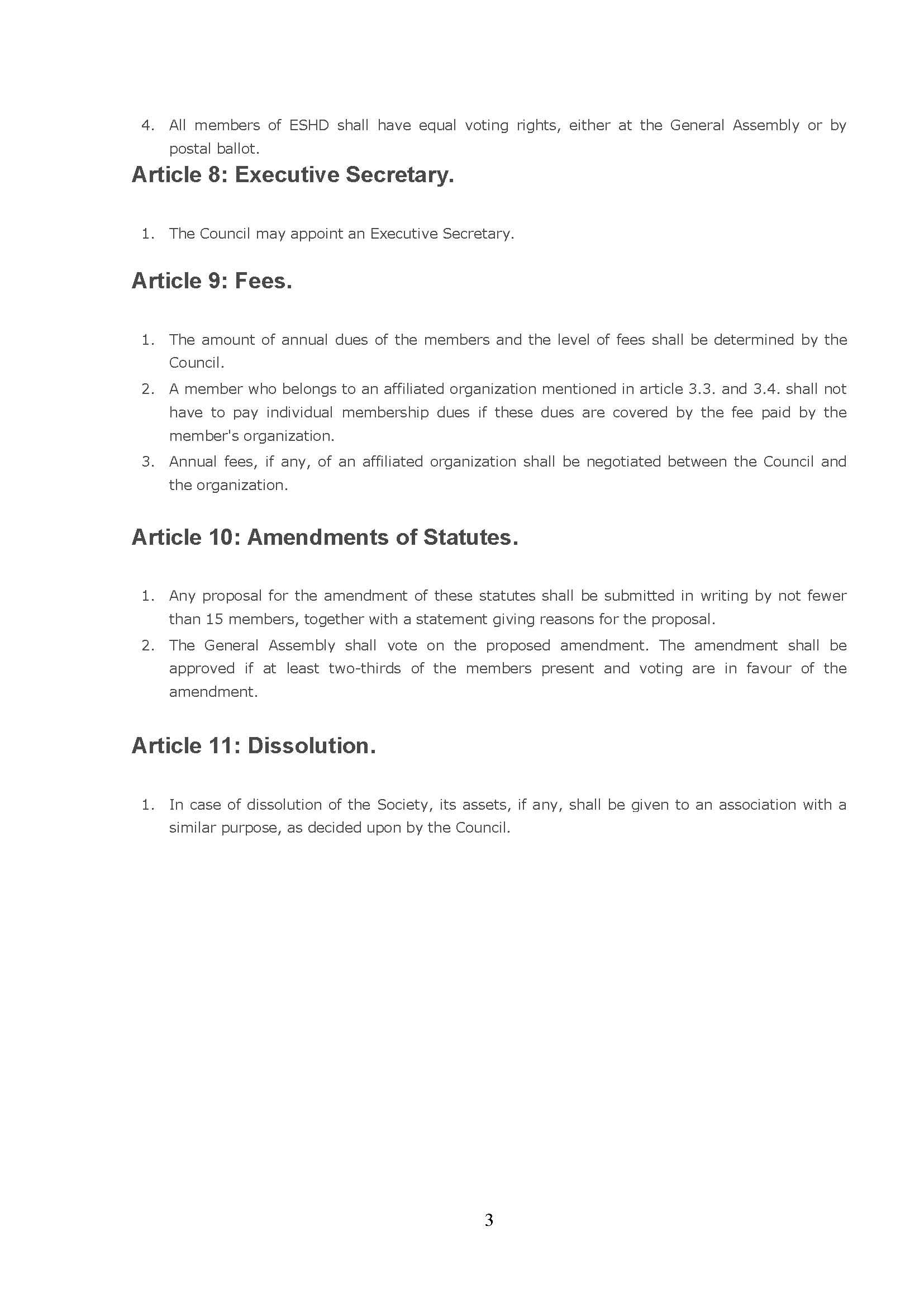 STATUTES 3